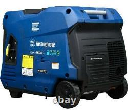 (NEW) Westinghouse iGen4500DF Inverter Generator Dual Fuel 3,700 watt