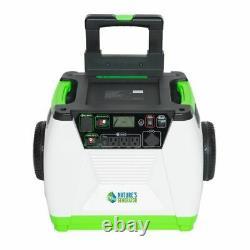 Nature's Generator 1800 Watt Portable Inverter Generator with Solar Power Panel