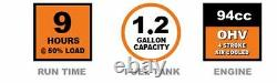 New 2000-Watt Gasoline Powered Portable Digital Inverter Generator