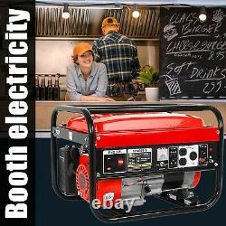 New! 4000 Watt Parallel Ready Portable Gasoline Inverter Generator For Jobsite RV