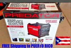 New Predator 3500 Watt Super Quiet Inverter Generator Envío Gratis a Puerto Rico