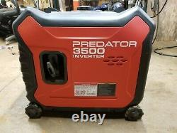 New Sealed Predator 3500 Watt Super Quiet Inverter Generator