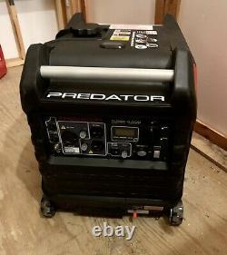 PREDATOR 3500 Watt Super Quiet Inverter Generator 19 hours only