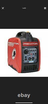 PREDATOR2000 Watt Super Quiet Inverter Generator