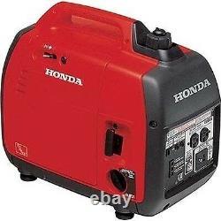 Portable Honda Generator Inverted CARB Appr 120 Volt 2000 Watt 2.5 HP