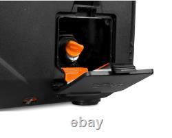Portable Inverter Generator 2350-Watt Recoil Start Gas Powered Fuel Shut Off
