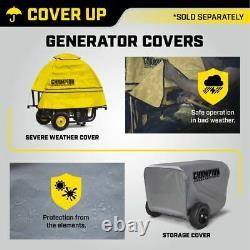 Power Equipment 4750/3800-Watt Dual Fuel RV Ready Portable Generator with Elect