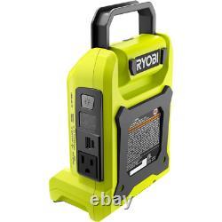 Powered Inverter Generator For 40 Volt Battery Ryobi ryi300bg 40V New 300 Watt