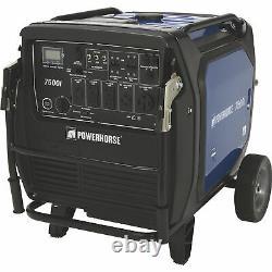 Powerhorse Inverter Generator 7500 Surge Watts, 6500 Rated Watts