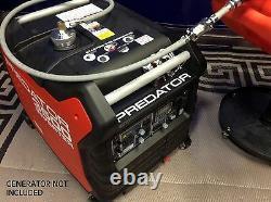 Predator 3500 Watt Inverter Generator 6 Gallon Extended Run Fuel System