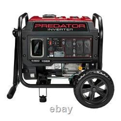 Predator 4400 Watt Portable Inverter Generator Wheels ENVIO GRATIS A PUERTO RICO