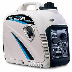 Pulsar 2,300 Watt Portable Small Gas Powered Inverter Power Generator (Open Box)