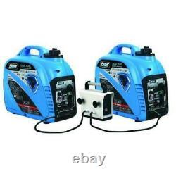 Pulsar 2200 Watt Portable Dual Fuel Gasoline Propane Inverter Generator PG220