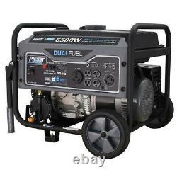 Pulsar 6500 Peak/5500 Rated Watt Dual Fuel Gas/LPG Portable Generator RV Ready