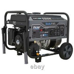 Pulsar 6500 Peak/5500 Rated Watts Gas/LPG Dual Fuel Portable Generator RV Ready