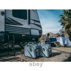 Pulsar G2319N 2300 Watt Portable Gasoline Inverter Generator Ultra Quiet