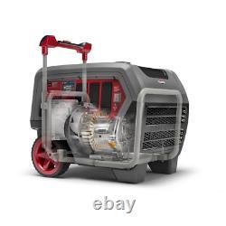 Q6500 Quietpower 6,500-Watt Recoil Start Gasoline Powered Inverter Generator Wit
