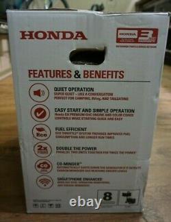 (RI4) Honda 2200-Watt Gasoline Inverter Generator EU2200i