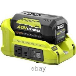 RYOBI 300-Watt 40V Battery Powered Inverter Generator