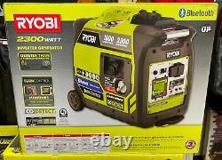 RYOBI RYI2322VNM 2,300 Watt Bluetooth Quiet Gas Powered Inverter Generator NEW