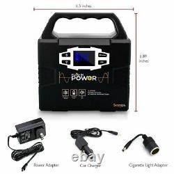 Rechargeable Battery Portable Power Generator 150-Watt Solar Panel