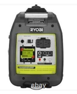 Ryobi 2,300-Watt Recoil Start Bluetooth Super Quiet Gasoline Powered Digital