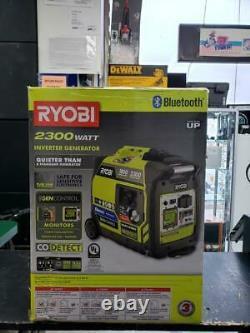 Ryobi 2300-watt Gasoline Powered Bluetooth Generator Ryi2322vnm (e10014834)
