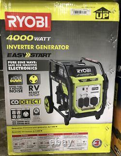 Ryobi RYi4022X 4000 Watt Gasoline Powered Digital Inverter Generator