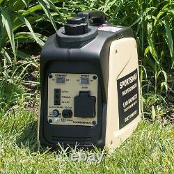 Sportsman Certified Refurbished 1000 Watt Sandstorm Gasoline Inverter Generator
