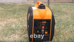 WEN 56203i Super Quiet Silent2000-Watt Portable Inverter Generator Fuel Shut Off