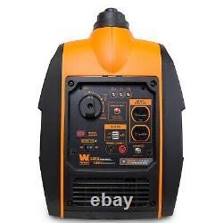 WEN 56225i 2250-Watt Gas Powered Portable Inverter Generator with Fuel Shut-Off