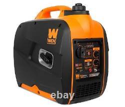 WEN 56225i Super Quiet 2250-Watt Portable Inverter Generator with Fuel Shut-Off