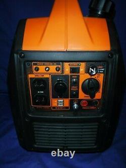 WEN 56235i Super Quiet 2350-Watt Portable Inverter Generator