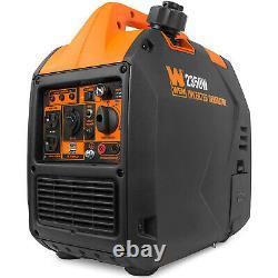 WEN 56235i Super Quiet 2350-Watt Portable Inverter Generator with Fuel Shut Off