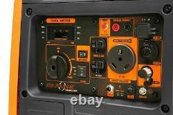 WEN DF400i Super Quiet 4000-Watt Dual Fuel RV-Ready Portable Inverter Generator