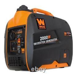 WEN Super Quiet 2000-Watt Gas-Powered Inverter Generator with CARB Compliant
