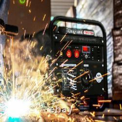 Welder Generator Stick TIG Engine Driven Inverter 210 Amp 2000 Watt Portable Kit