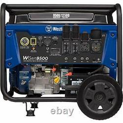 Westinghouse WGen9500 9500 Watt Electric Start Portable Generator with GFCI P