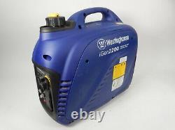 Westinghouse iGen2200 1800 Running Watts 2200 Peak Watts Inverter Generator