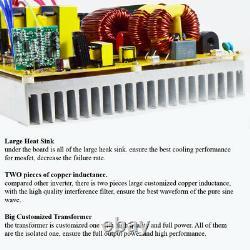 10000 Watt Pure Sine Wave Onduleur 24v À 110v 220v Car Power Generator Truck Rv