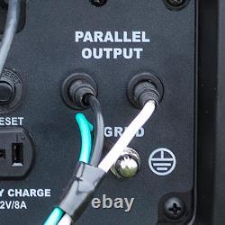 2 200/1 800 Watts Dual Fuel Lpg/gasoline Powered Recoil Start Onverter Portable G