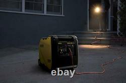 200986 Générateur D'onduleur Portable 4500-watt, 4500-watt + Gaz + Démarrage Manuel