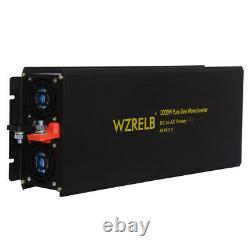 3000watt Pure Sine Wave Onduleur 12v À 120v DC Ac Générateur D'énergie Solaire De Batterie