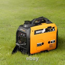 3200 Watt Super Silencieux Générateur D'onduleur Portable Epa Compatible Rv Utilisation De Camping