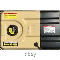 4000-watt Recoil Démarrer Double Générateur Portable De Carburant