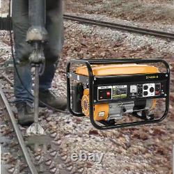 4000-watt Super Silencieux Portable Rv Prêt Gaz Générateur D'inverseur D'urgence