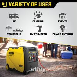 4650-watt Générateur D'inverseur De Gaz Portable Et De Propane À Double Carburant W