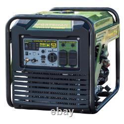 8 750/7000-watt Générateur D'onduleur Numérique À Double Combustible Avec 50 Amp Rv Sortie, Usb