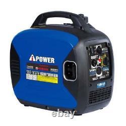 A-ipower 2000 Watts Portal Générateur D'inverseur D'essence Alimenté Par Yamaha Engine