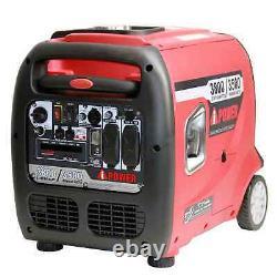 A-ipower 3800 Watt Générateur D'onduleur Numérique Portable Super Gaz Quiet Rv Nouveau